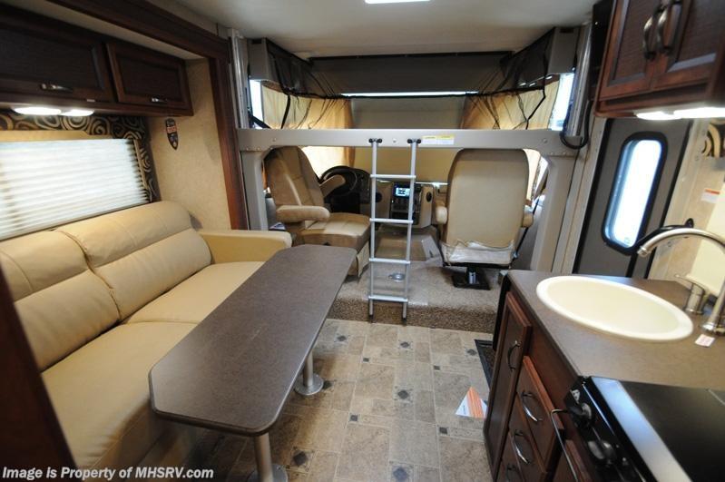 2015 Thor Motor Coach Rv Vegas 24 1 W Slide Ifs 4 Bed 3