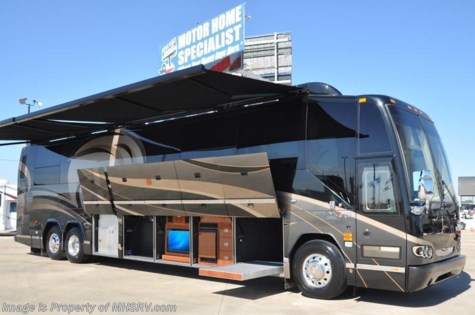 "New 2010 Prevost RV H3-45 W/2 Slides ""The CEO\"" For Sale by Motor Home Specialist available in Alvarado, Texas"