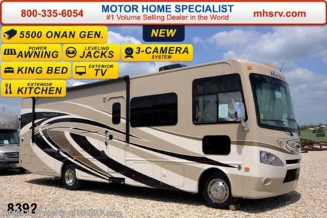 8392 2015 thor motor coach hurricane 32n w ext tv pwr for Motor home specialist inc alvarado texas