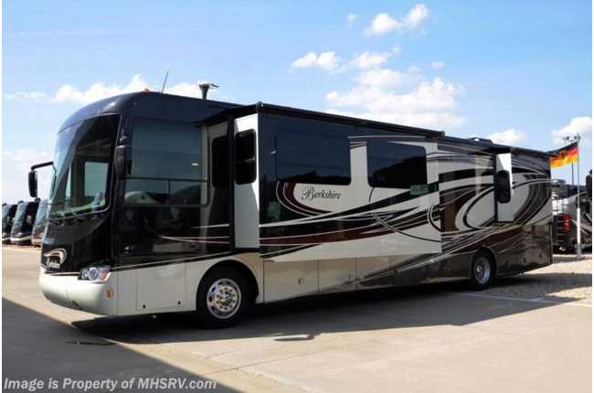 Fantastic New 2014 Forest River Berkshire 400BH60 Bunks 15K BTU 360HP Res