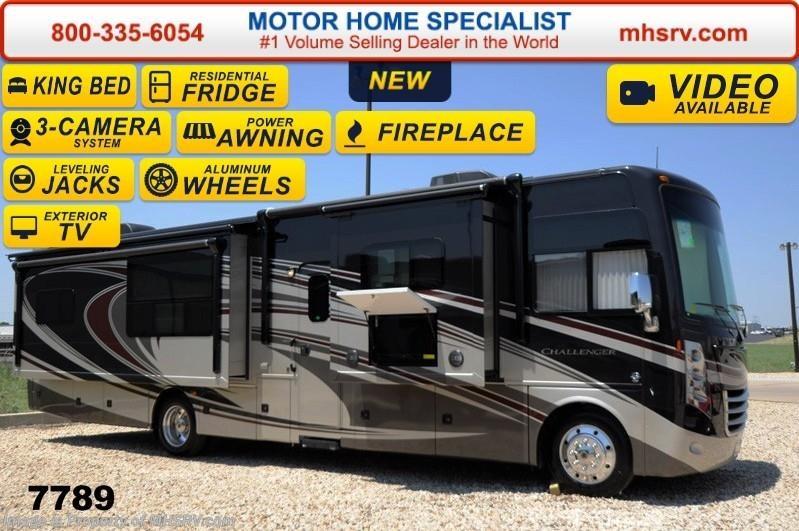 2015 thor motor coach rv challenger 37kt w 40 tv king for Motor home specialist inc alvarado texas
