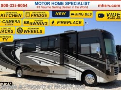 "2015 Thor Motor Coach Challenger 37ND W/40"" TV, King Bed, Ext Kitchen & Res. Fridge"