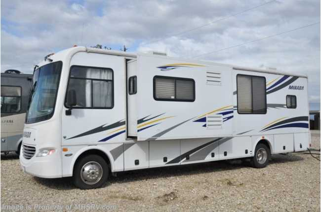 Used 2007 coachmen mirada for Class a rv height