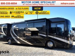 "2015 Thor Motor Coach Tuscany 40KQ W/Aqua Hot, 60"" TV, 4 Slides"