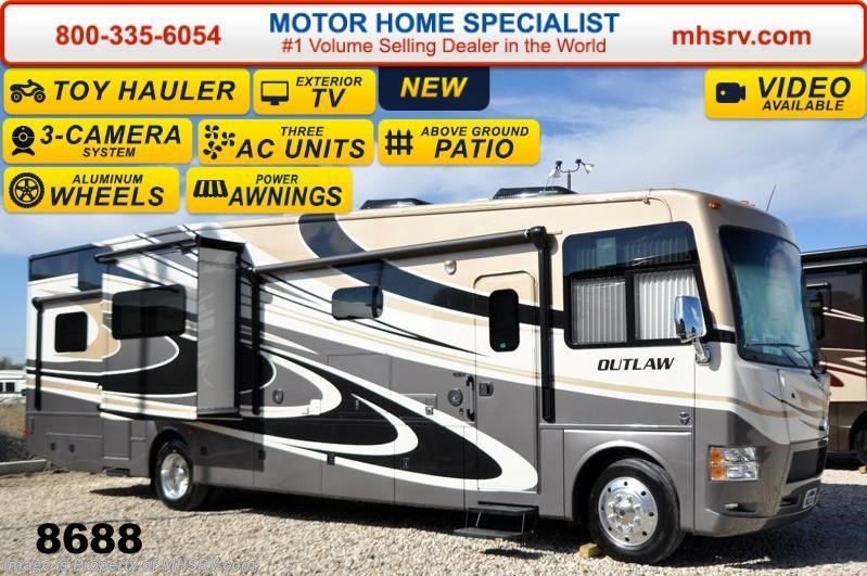 2015 thor motor coach rv outlaw 37md patio 26k chassis 2 for Motor home specialist inc alvarado texas