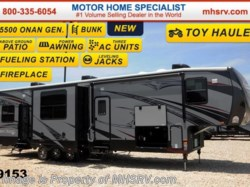 2015 Heartland RV Road Warrior RW390 W/ Ivory, Jacks, Bunk & 3 A/Cs