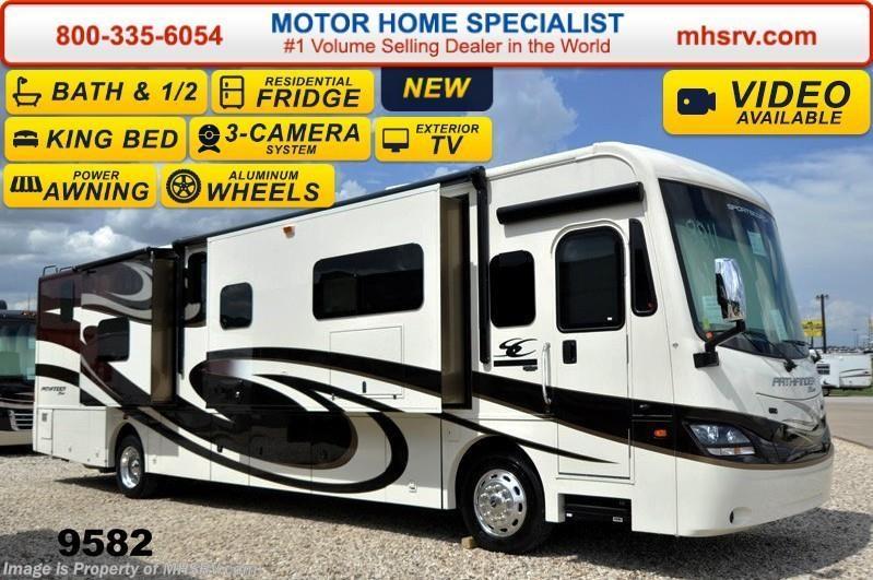 2015 sportscoach rv pathfinder 404rb bath 1 2 w 4 slides for Motor home specialist inc alvarado texas