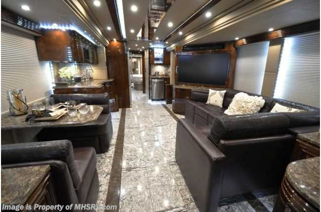 Used 2016 Prevost H3 45 By Outlaw Coach The Residency II