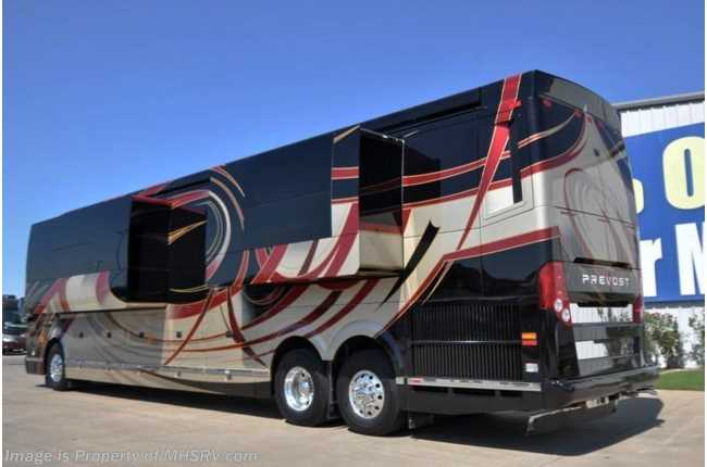 Used 2016 prevost for Rv height