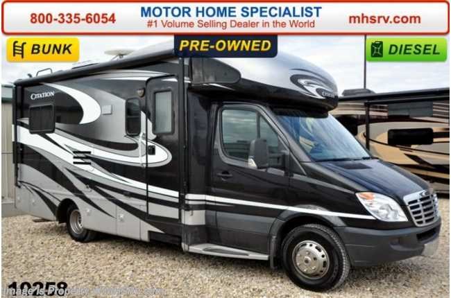 Used 2012 thor motor coach chateau citation sprinter for Thor motor coach citation sprinter