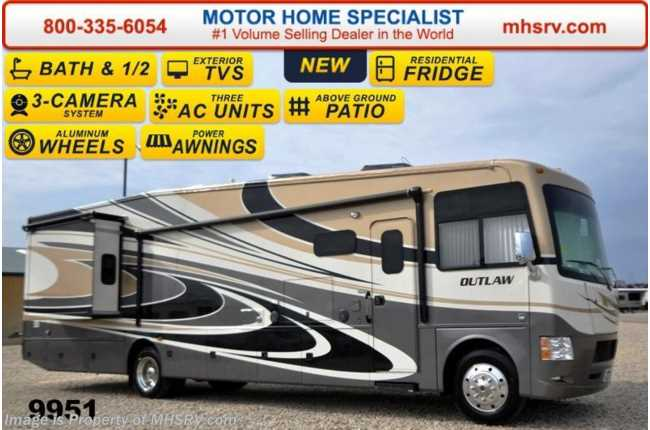 Fantastic New 2015 Thor Motor Coach Outlaw Residence Edition