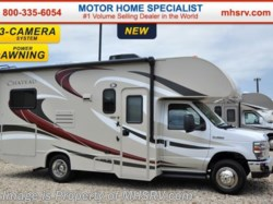 2016 Thor Motor Coach Chateau 22E W/ 3 Cam, Pwr. Awning & Heated Tanks