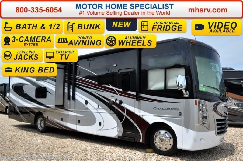 2016 thor motor coach rv challenger 37tb bath 1 2 bunk for Motor home specialist inc alvarado texas