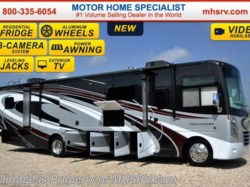 2016 Thor Motor Coach Challenger 37GT W/ 40 inch TV, Wine Rack & Res. Fridge
