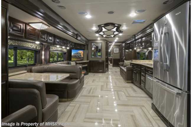 New 2016 thor motor coach tuscany for Million dollar motor coaches