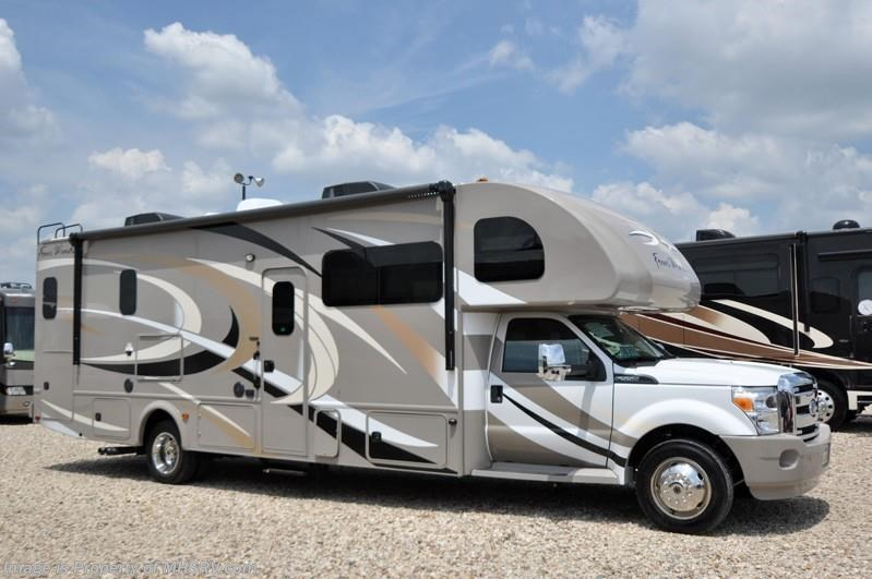 New 2015 thor motor coach four winds super c 35sf motor for Super c motor homes