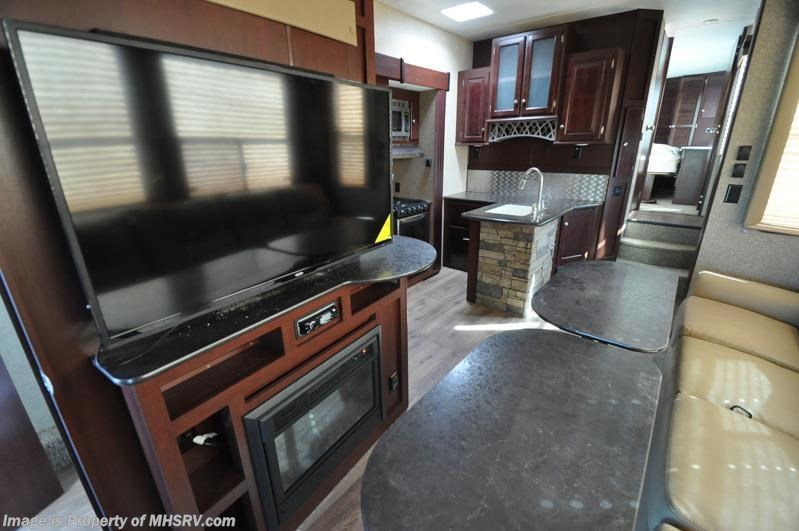 2016 heartland rv rv edge 397ed toy hauler 2 baths side patio 2 a cs for sale in alvarado tx Rv with 2 bedrooms 2 bathrooms