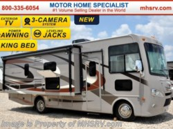 2016 Thor Motor Coach Hurricane 27K W/ Jacks, King Bed, L-Shaped Sofa