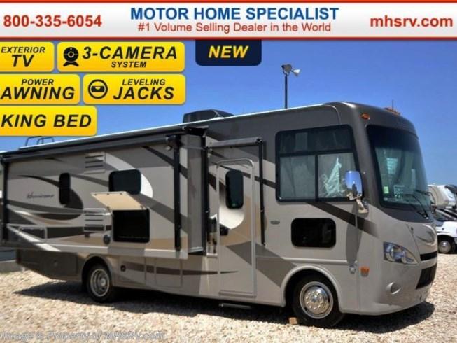 2016 thor motor coach rv hurricane 27k jacks king bed l for Motor home specialist inc alvarado texas