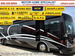 "2016 Thor Motor Coach Tuscany 45AT Bath & 1/2, Aqua Hot, 60"" TV, 10K Gen."