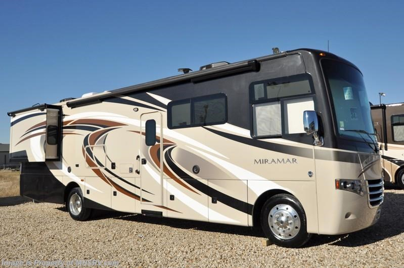 Unique 2016 Thor Motor Coach Miramar 343 Bunk House WKing Bed OH Bunk Ext