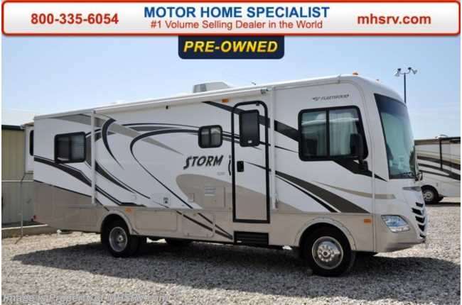 Used 2011 fleetwood storm for Class a rv height