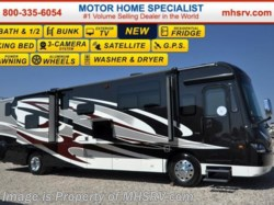 2016 Sportscoach Cross Country 404RB Bath & 1/2, Pwr Salon Bunks, W/D & King