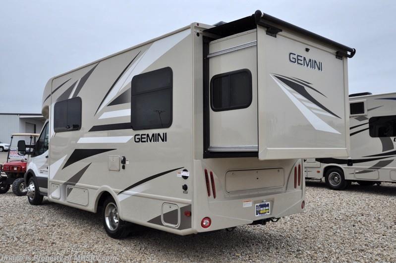 2016 Thor Motor Coach Rv Gemini 23tr Diesel W Slide Ext