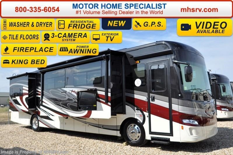 2016 forest river rv berkshire xl 40a 380 w stack w d for Motor home specialist inc alvarado texas