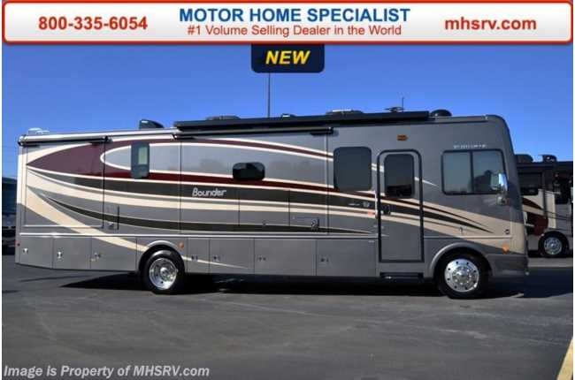 New 2016 fleetwood bounder for Class a rv height
