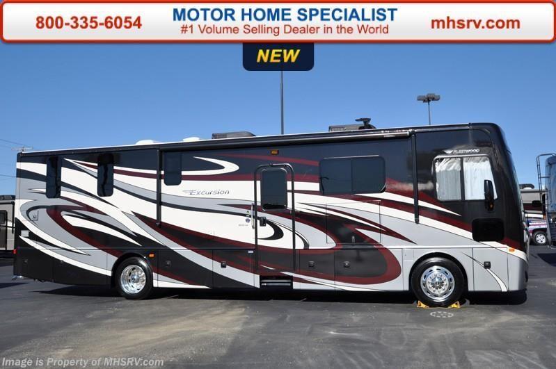 2016 fleetwood rv excursion 35e diesel pusher bunk rv for for Motor home specialist inc alvarado texas