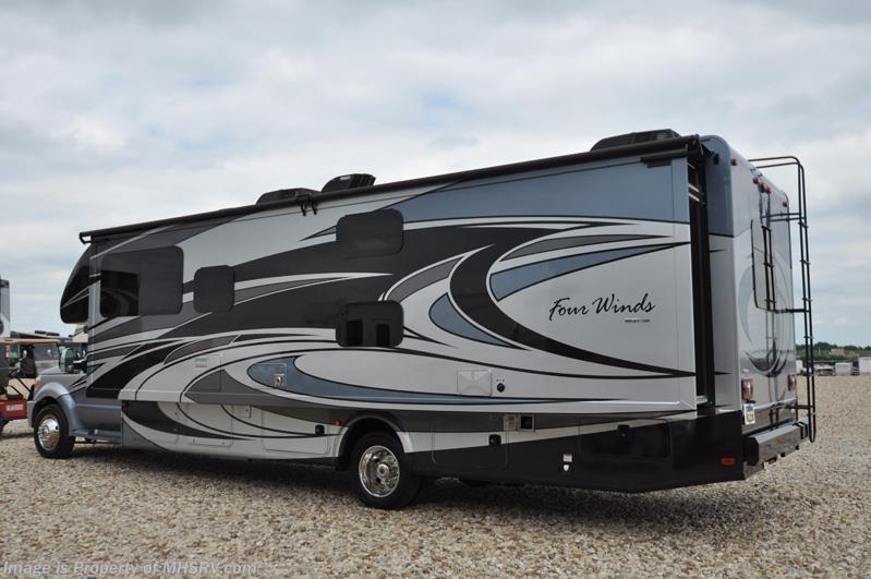 Simple 2017 Thor Motor Coach RV Four Winds Super C 35SB Bunk Model FBP King