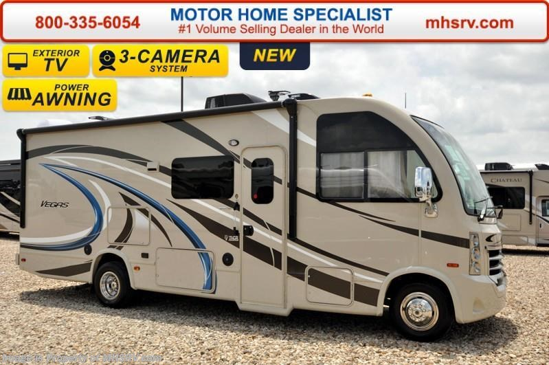 2017 thor motor coach rv vegas 25 3 w ifs ext tv pwr for Thor motor coach vegas for sale