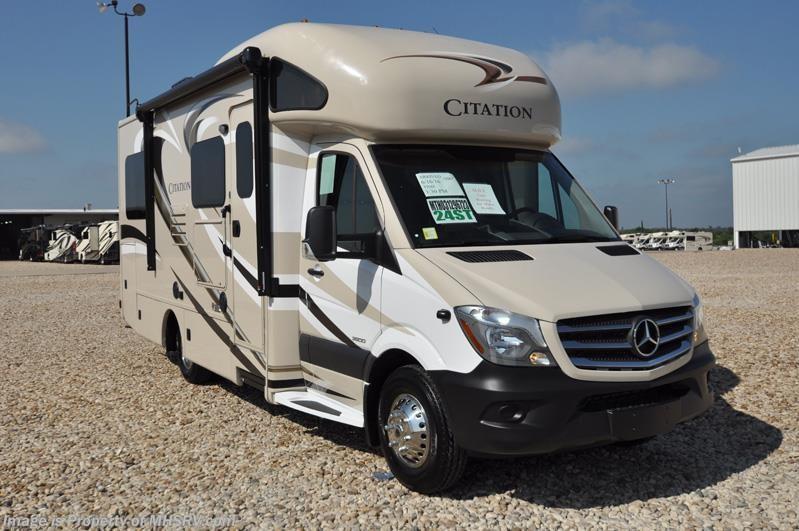 2017 Thor Motor Coach Rv Chateau Citation Sprinter Diesel