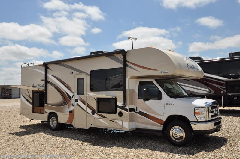2017 thor motor coach rv four winds 29g class c rv for for Motor homes for sale in texas