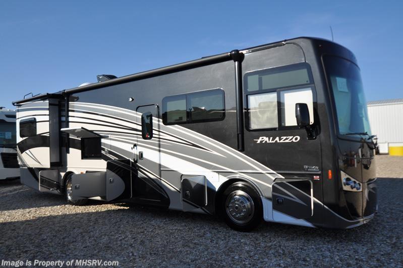 2017 thor motor coach rv palazzo 33 3 bunk model rv for for Motor home specialist inc alvarado texas