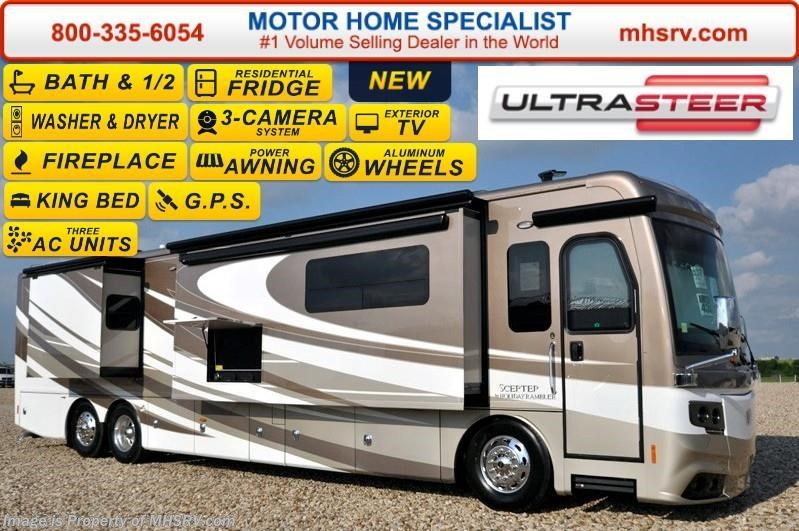 Excellent 2017 Holiday Rambler RV Scepter 43G Bath Amp 12 Luxury