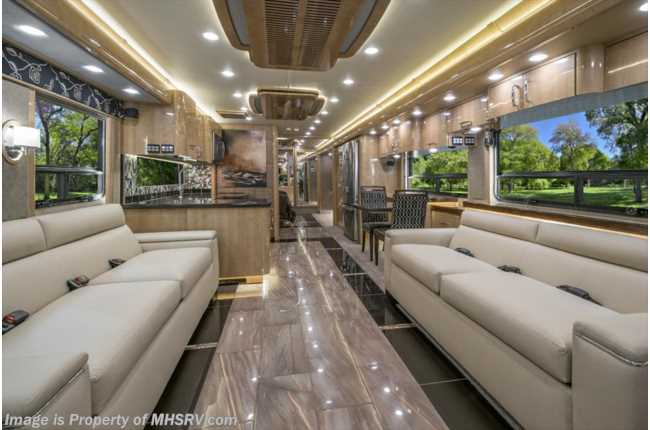 New 2017 American Coach Eagle 45A Bath 1 2 Heritage Edition RV For Sale