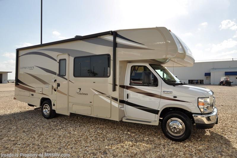 2017 coachmen rv leprechaun 260ds class c rv for sale w for Motor homes for sale in texas