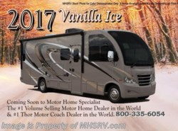 New 2017  Thor Motor Coach Axis 25.3 RUV for Sale at MHSRV.com W/Upgraded A/C by Thor Motor Coach from Motor Home Specialist in Alvarado, TX