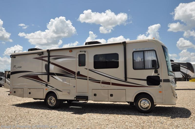 2017 Fleetwood Rv Flair 30u Rv For Sale At Mhsrv W Hide A