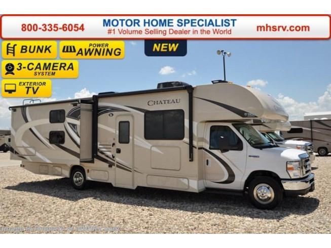 2017 thor motor coach rv chateau 30d bunk model rv for for Motor home specialist inc alvarado texas
