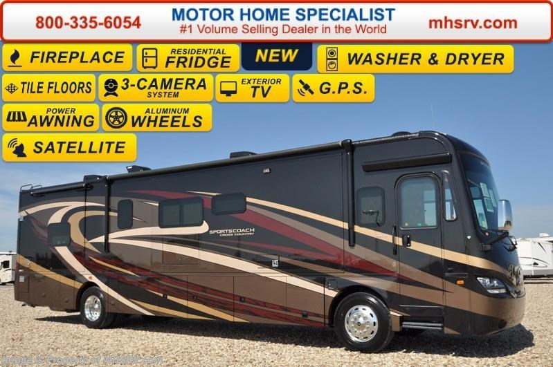 New 2017 sportscoach cross country used rvs for Motor coach driving jobs