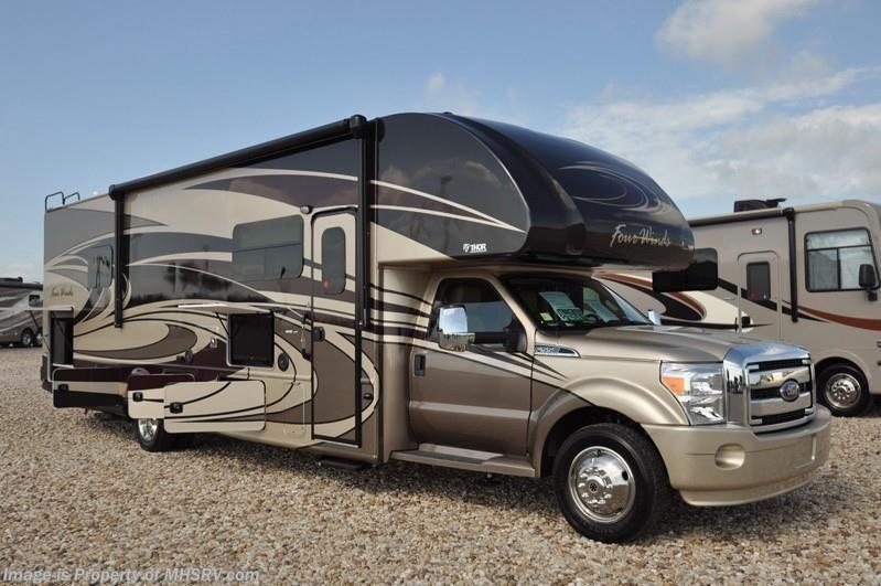 Beautiful 2017 Thor Motor Coach RV Four Winds Super C 35SM Super C WExt Kitchen