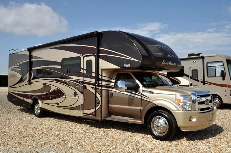 Creative 2017 Thor Motor Coach RV Four Winds Super C 35SM Super C WExt Kitchen