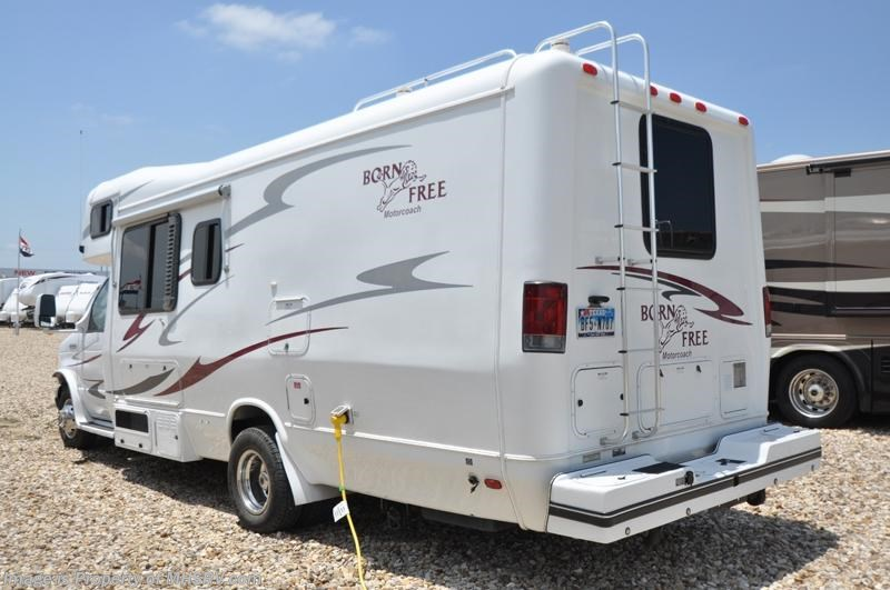 2006 born free rv 26rb used rv for sale for sale in for Motor homes for sale in texas
