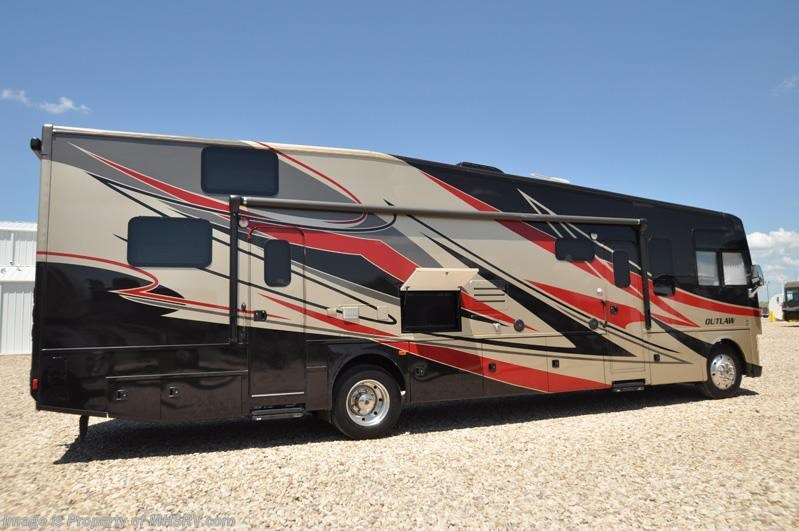2015 Thor Motor Coach RV Outlaw 37LS Toy Hauler W/ Slide ...