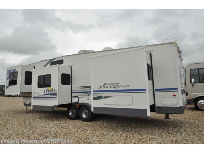 2006 fleetwood rv wilderness advantage 358fkqs with 4 for Motor homes for sale in texas
