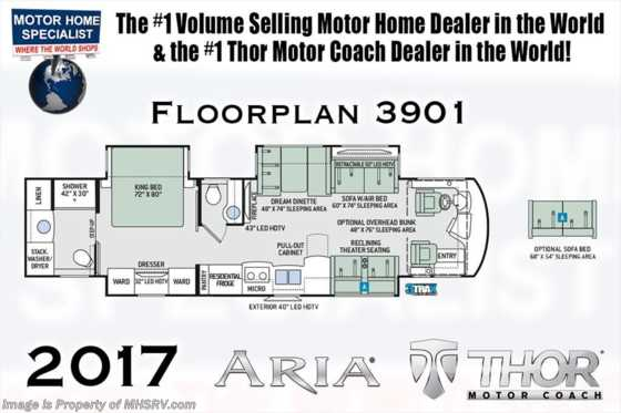 New 2017 thor motor coach aria new 2017 thor motor coach aria 3901 bath 12 rv for sale w asfbconference2016 Images