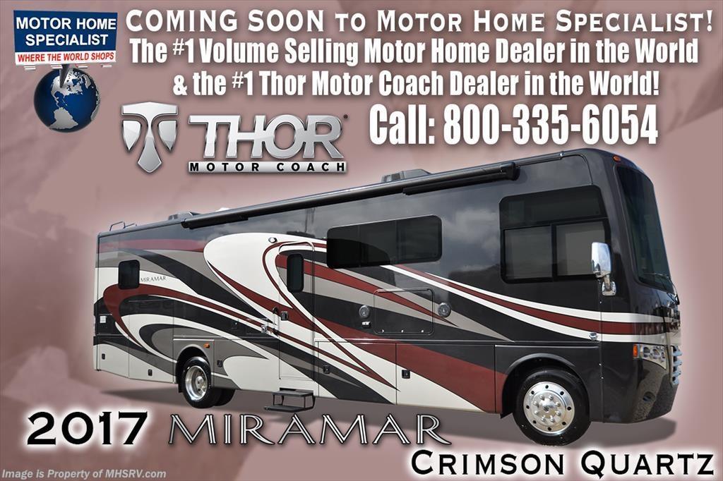 2017 thor motor coach rv miramar 35 2 rv for sale w king for Motor home specialist inc alvarado texas